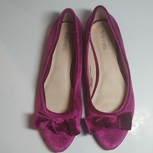 Steve's flats Ballet shoes fuchsia  girls